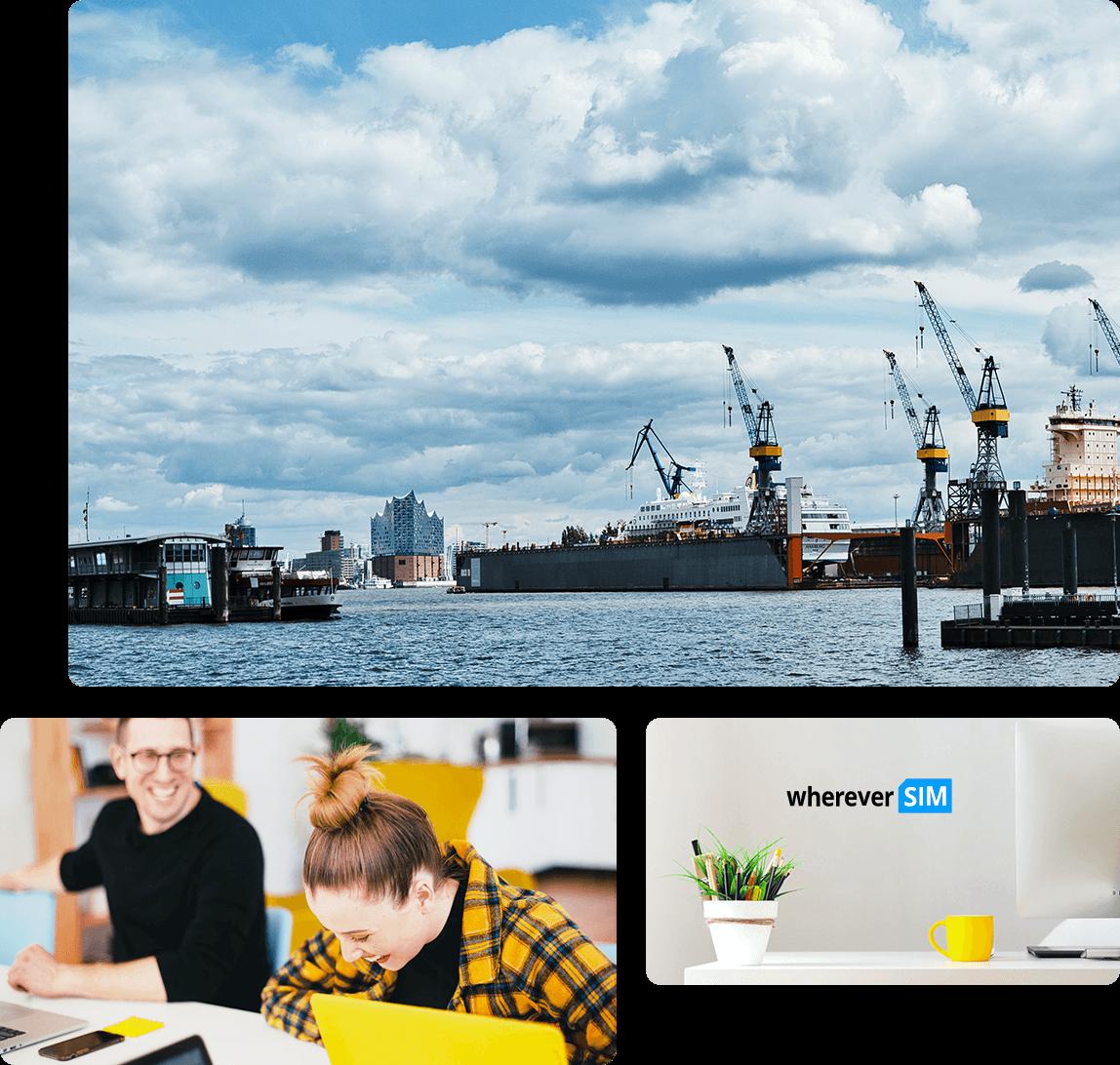 Unternehmen - wherever SIM