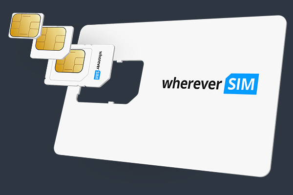 M2M Sim Karte - wherever SIM
