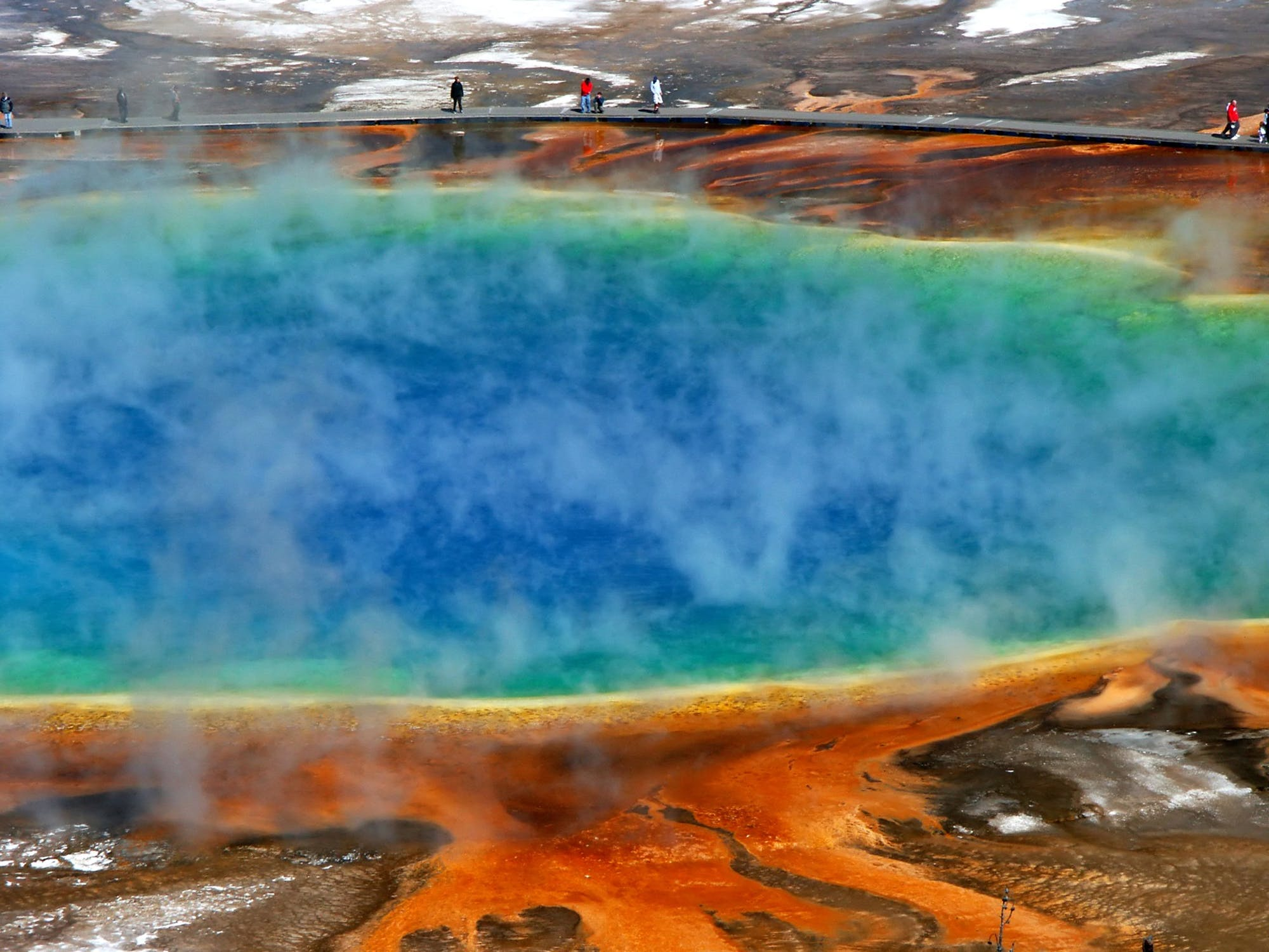 Best Vacation Spots in the United States, The Yellowstone National Park