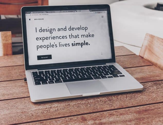 Passive Income - Laptop With Design Website