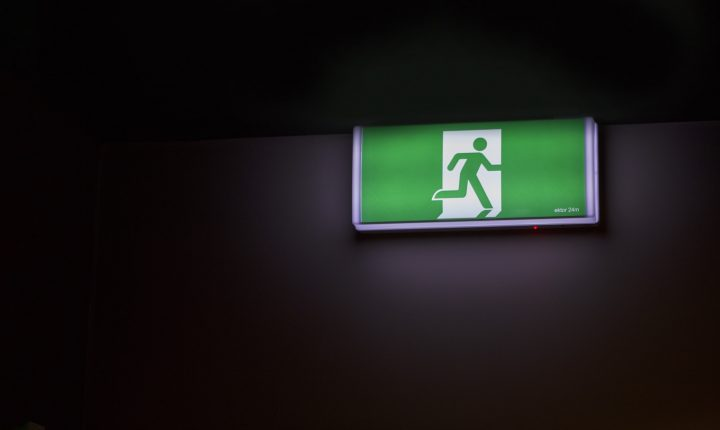 What Is Data - Exit Sign