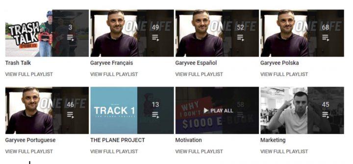gary vaynerchuk youtube playlist