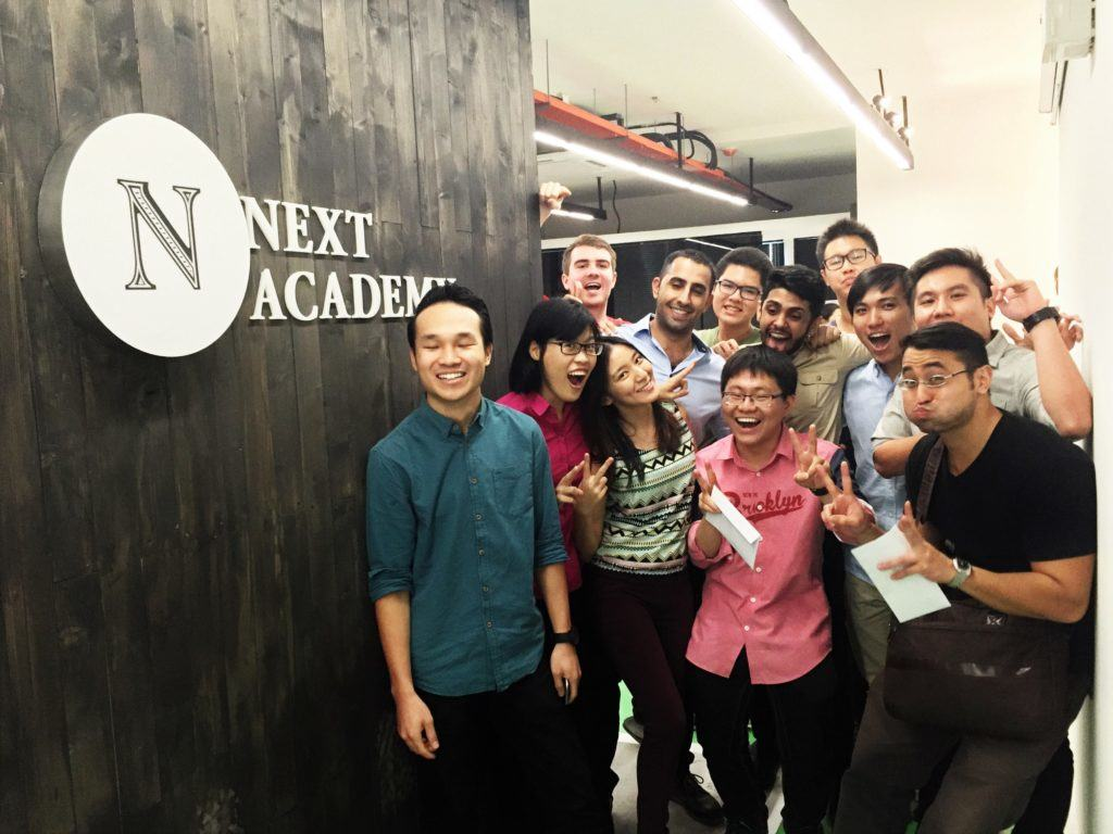 NEXT Academy graduates