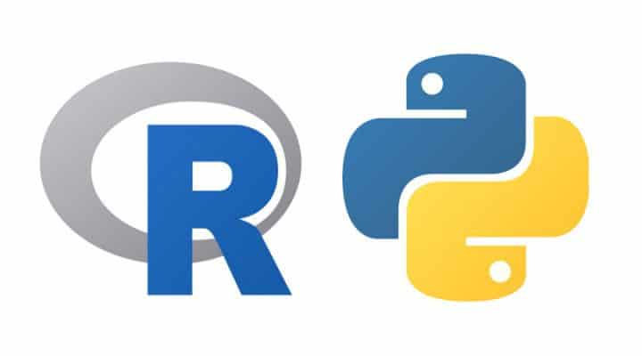 python R to become a data scientist
