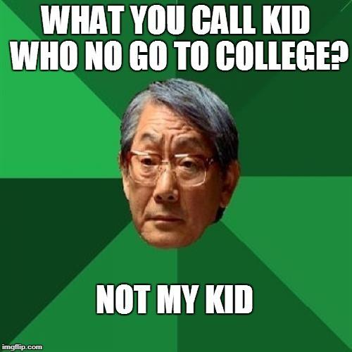 college joke