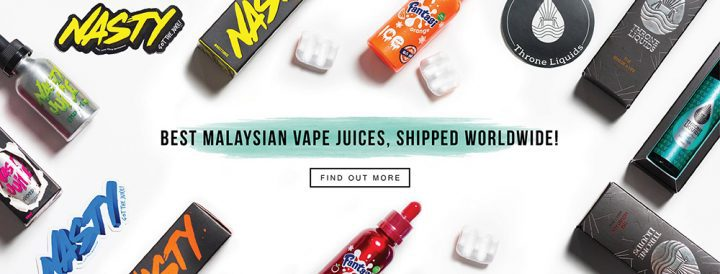 VapeClubMY ships to over 60 countries worldwide