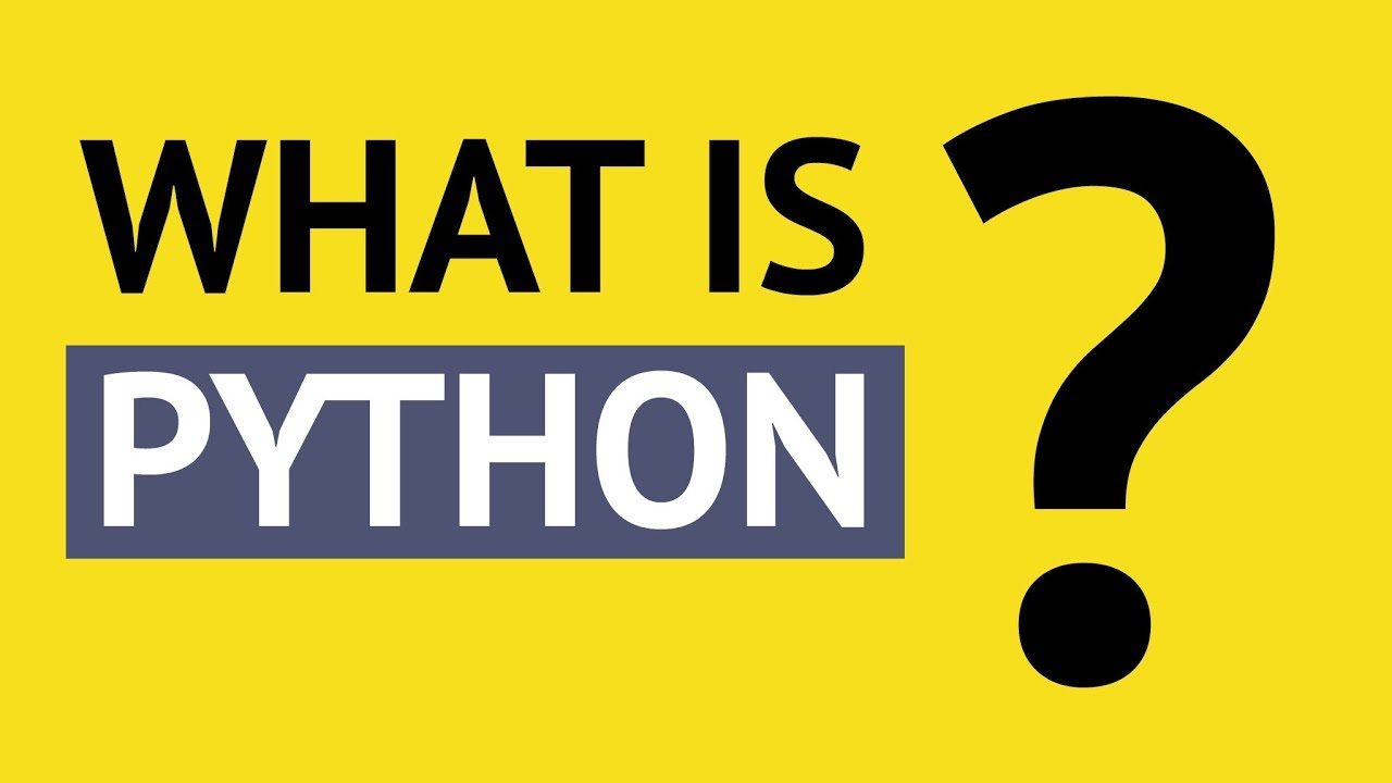 What is Python and Why You Must Learn It