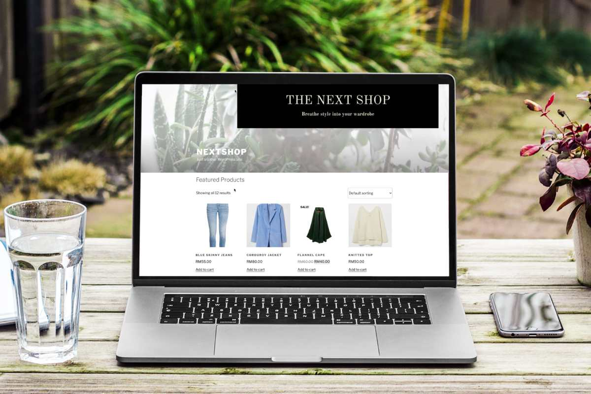 building ecommerce website with next academy