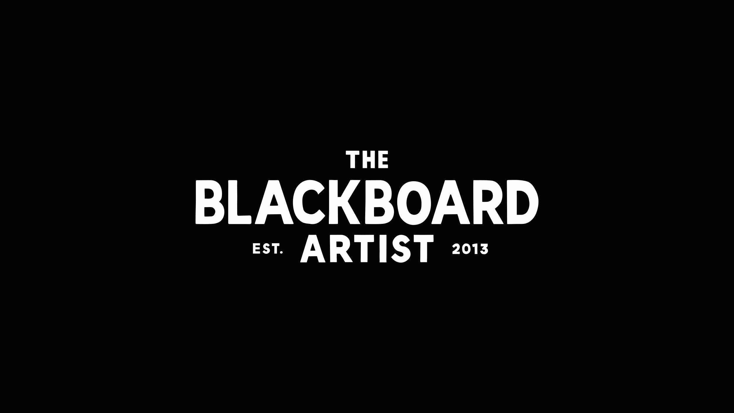 The Blackboard Artist logo