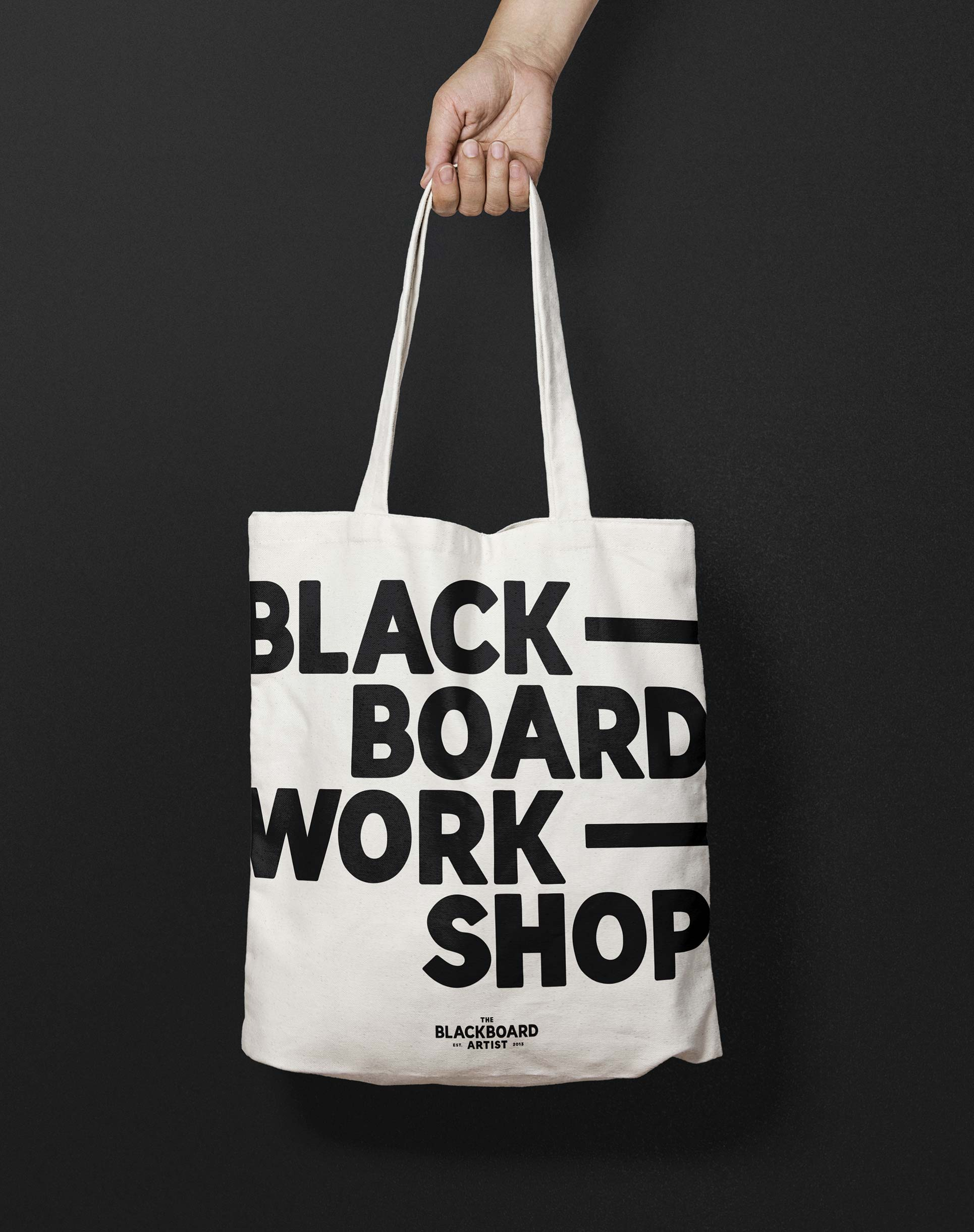 The Blackboard tote bag