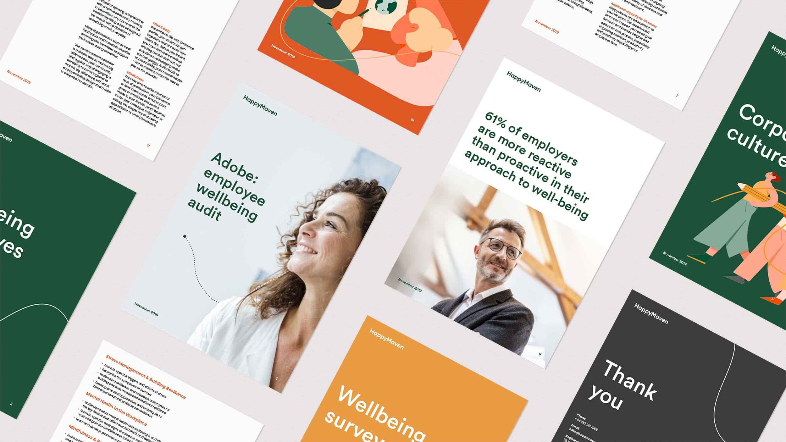 Audit presentation design for HappyMaven