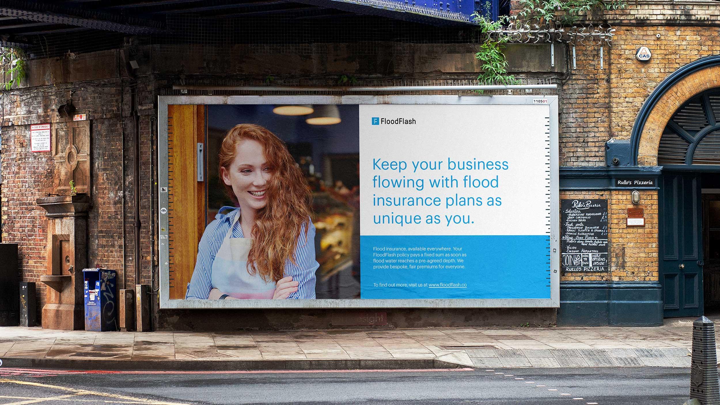 Floodflash billboard design