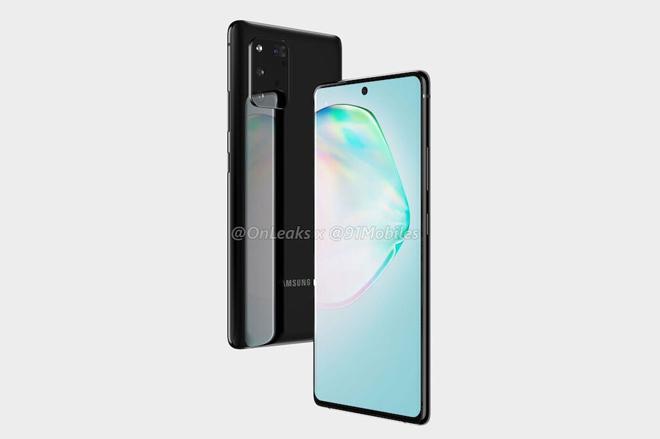 """Galaxy Note 10 Lite và S10 Lite lộ thiết kế đẹp """"xuất sắc"""" - Ảnh 2"""