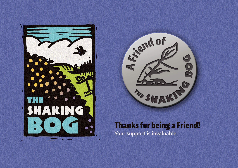 presentation card for friendship pin