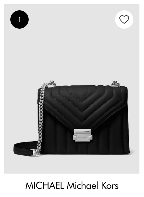 Black Michael Kors purse in number 1 selling position