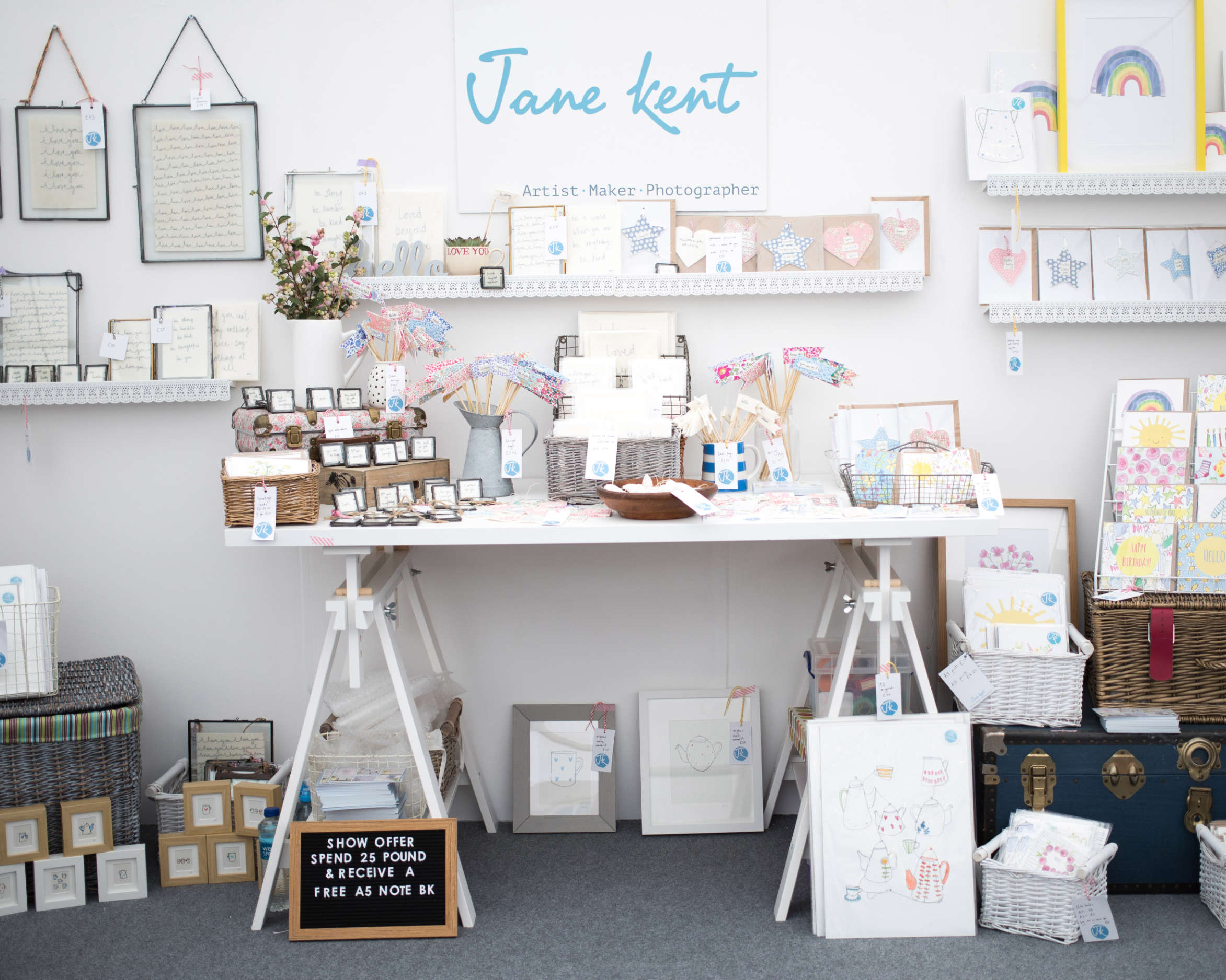 jane kent show stand