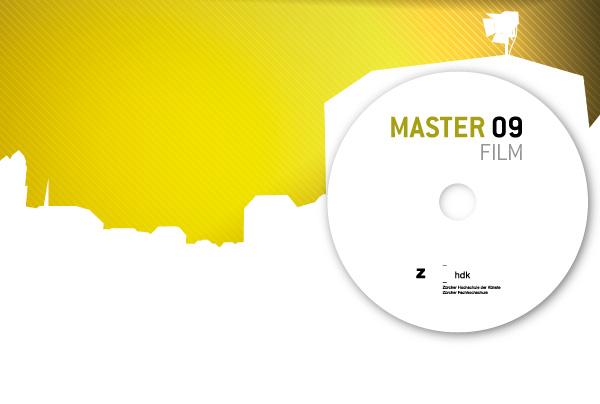 DVD Cover Sheet, Inside, Zürcher Hochschule der Künste (Zurich University of the Arts)
