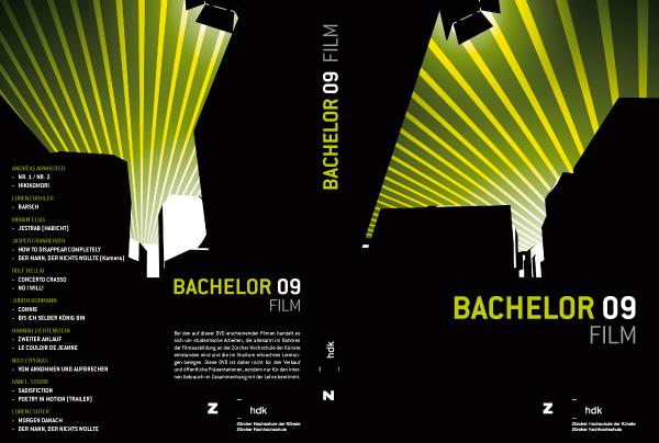 DVD Cover Sheet, Outside, Zürcher Hochschule der Künste (Zurich University of the Arts)