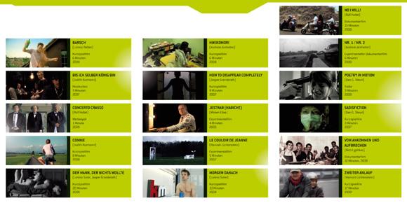 DVD Inlay, 6 pages, Zürcher Hochschule der Künste (Zurich University of the Arts) 2