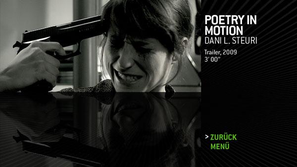 DVD-SubMenu-Design, Zürcher Hochschule der Künste (Zurich University of the Arts)