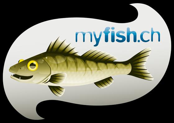 Website-Logo, myfish.ch