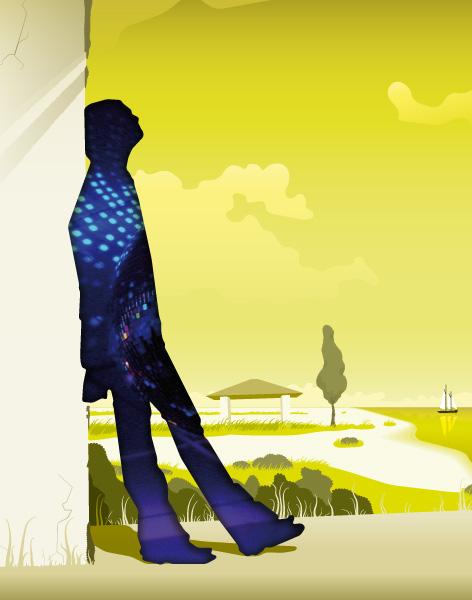 2008: Key Visual Illustration, Freelance-Work for Spillmann/Felser/Leo Burnett