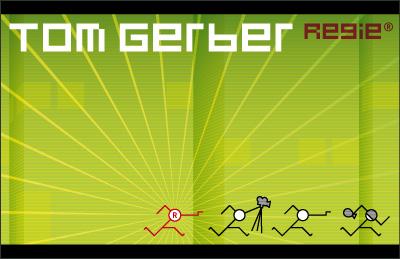 2008: Tom Gerber, Business Card, Frontside