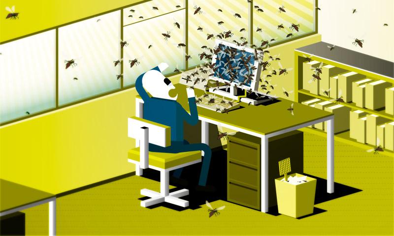 2006: Sonntagszeitung, 10. Dezember, Illustration Multimedia-Bund