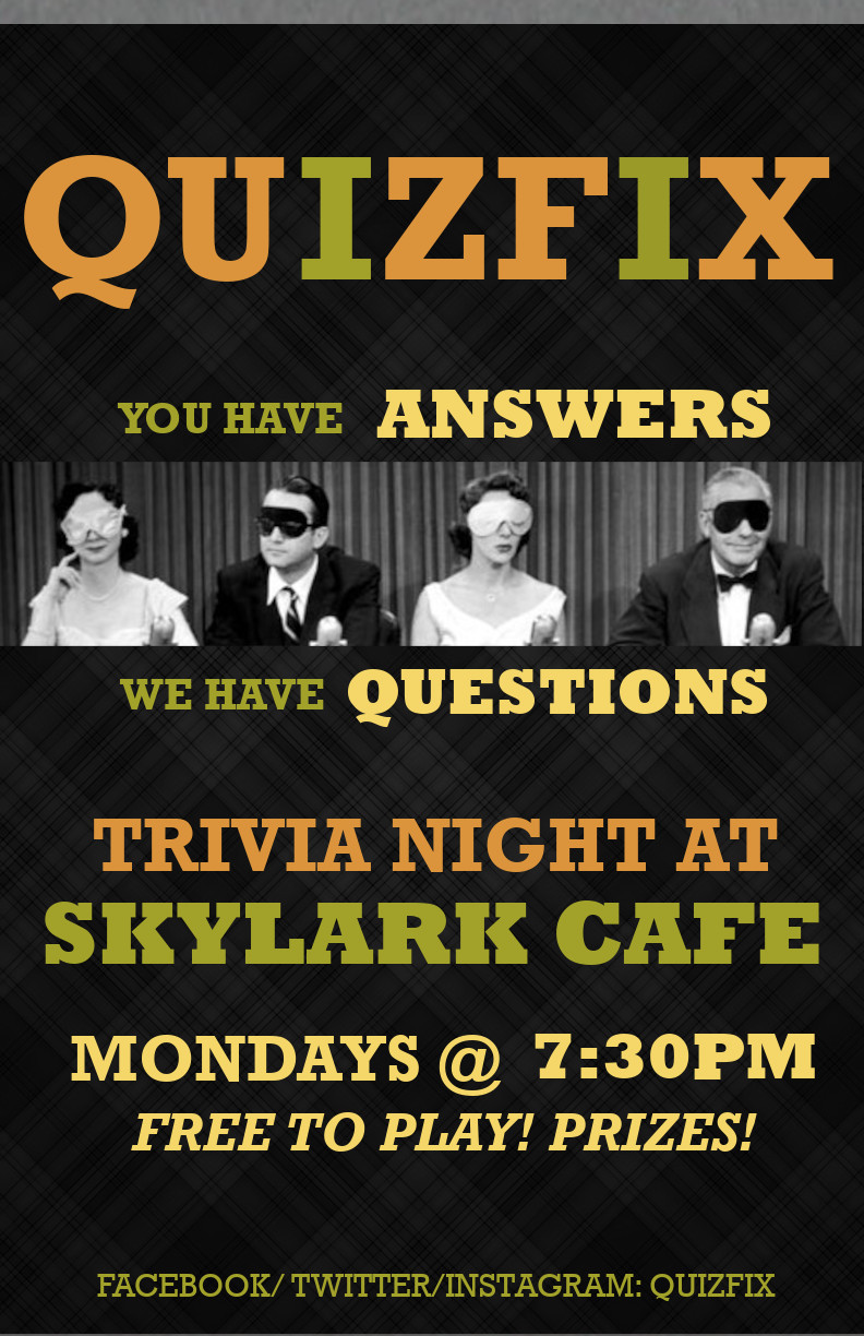 Weekly Trivia with Quizfix