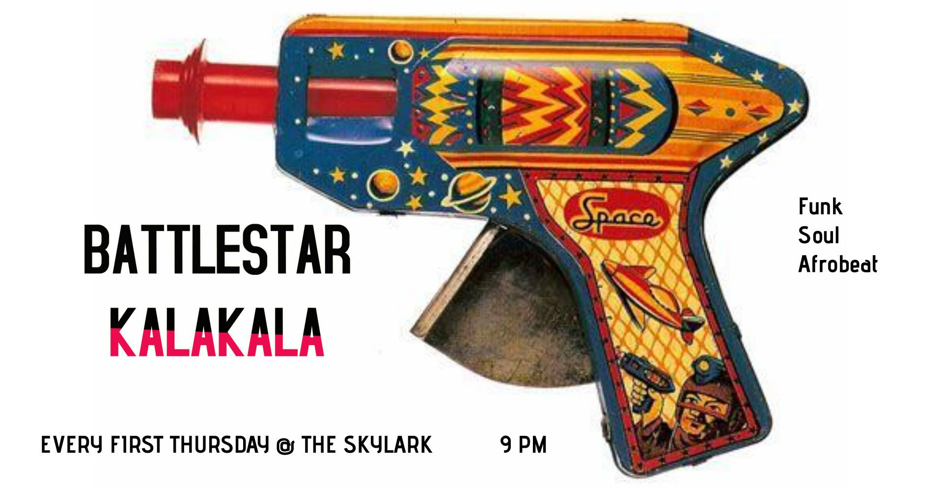 """BATTLESTAR KALAKALA continues the tradition of #RareFunkGrooves and #DeepFunk on West Seattle Island. Featuring members of West Seattle Soul aka The Pulsations with some of Seattle's finest, and you! Skylark Cafe and Club 3803 Delridge Way SW $10 at the door Skylark asks for proof of vaccination or a negative Covid test within 48 hours for admission. Outside seating in the patio is available during the show. Check out the crew! Maurice Caldwell, Jr. • Vox Kevin Nortness • Tenor Sax K.O. Kate Olson • Bari/Soprano Saxes Mike """"Moose"""" Barber • Trumpet Jimmy Austin • Trombone Kent Halvorsen • Keys Chris O'Connor • Guitar Danny Godinez • Guitar Tige DeCoster • Bass Adam Gross • Drums Tor Dietrichson • Percussion"""