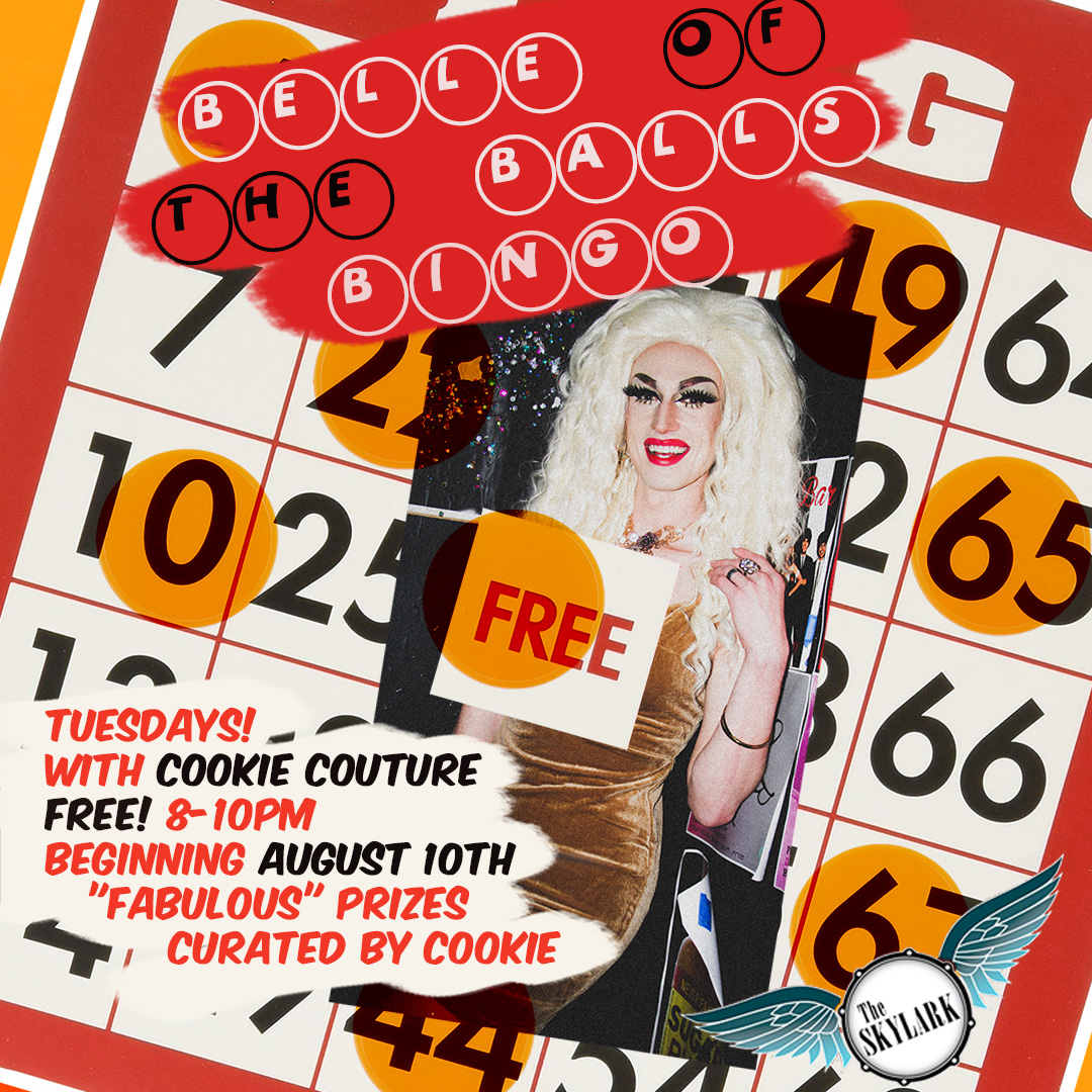 Join the hostess with the mostess, Cooke Couture for an evening of fun, balls, and bingo! Free to play and fabulous prizes.