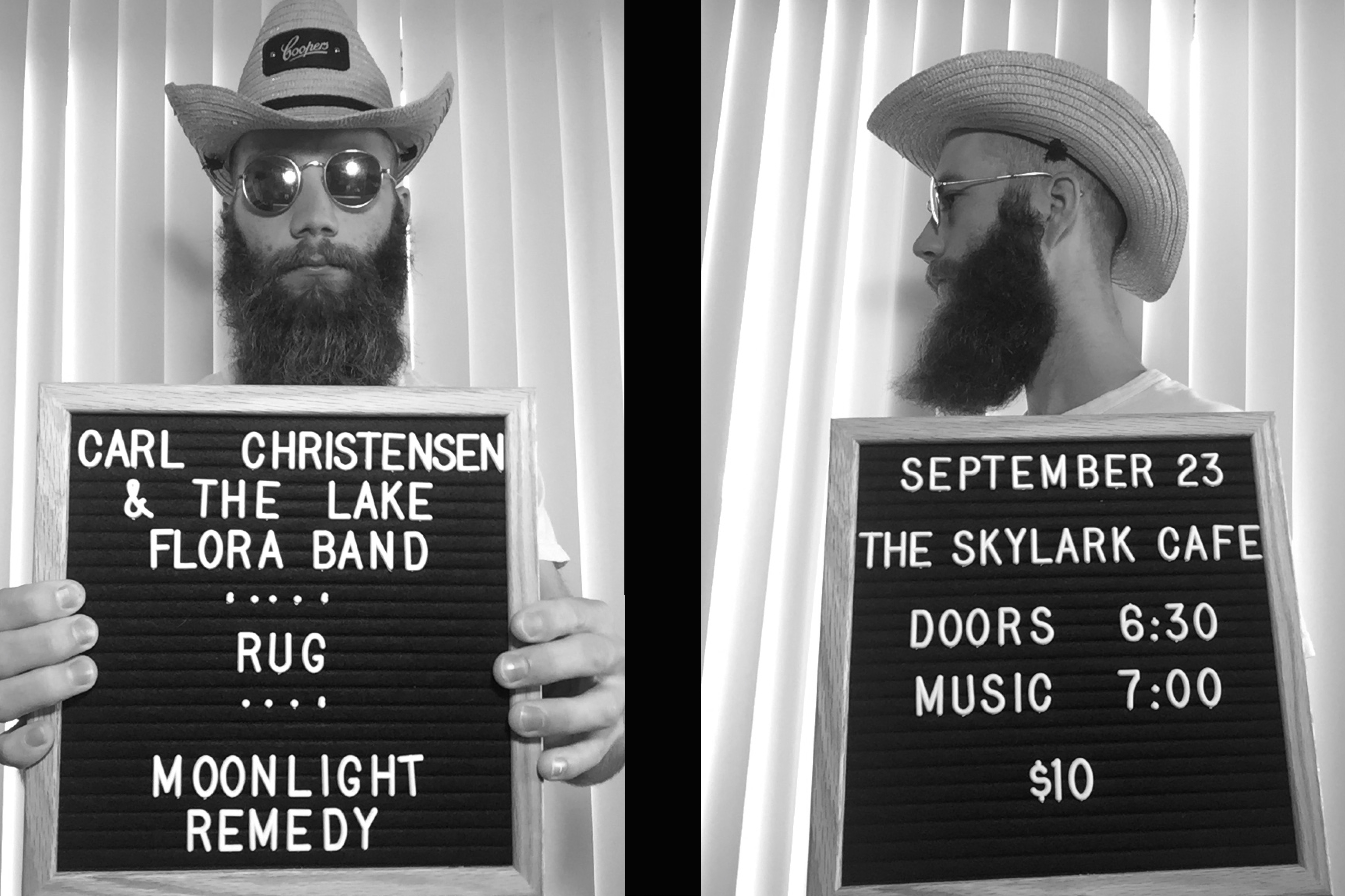 Local Folk Artist Carl Christensen & The Lake Flora Band is performing at The Skylark in West Seattle at 2021-09-23.