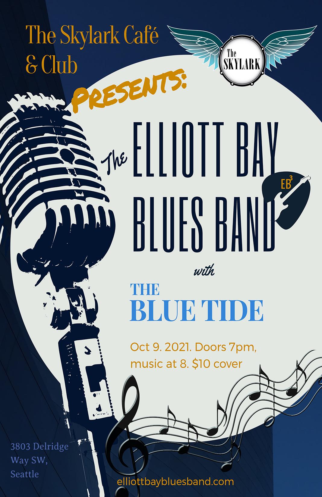 Elliott Bay Blues Band featuring The Blue Tide