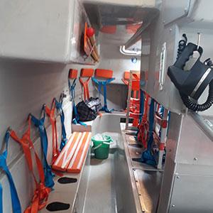 Qingdao Beihai Lifeboat Interior
