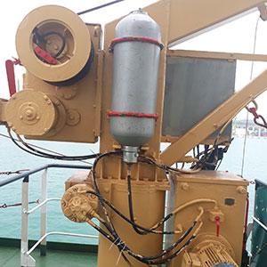 Qingdao Beihai Rescue Boat Davit
