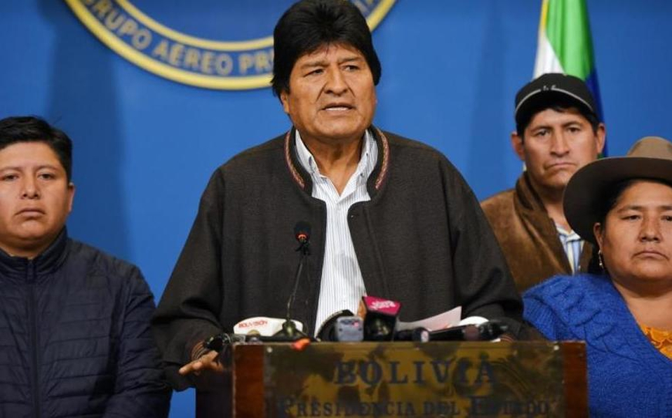 Resultado de imagen para evo morales bolivia