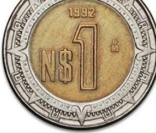 Resultado de imagen para moneda de un peso