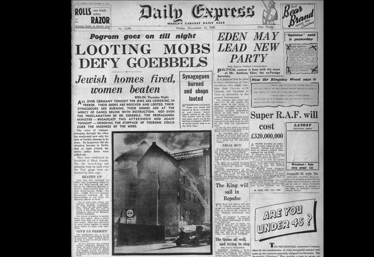 Resultado de imagen para pogroms 9 de noviembre