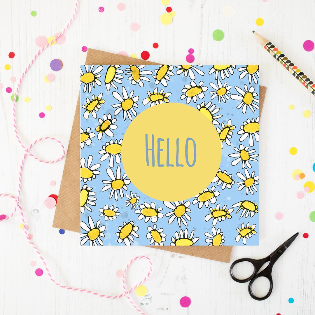 Hello Greetings card