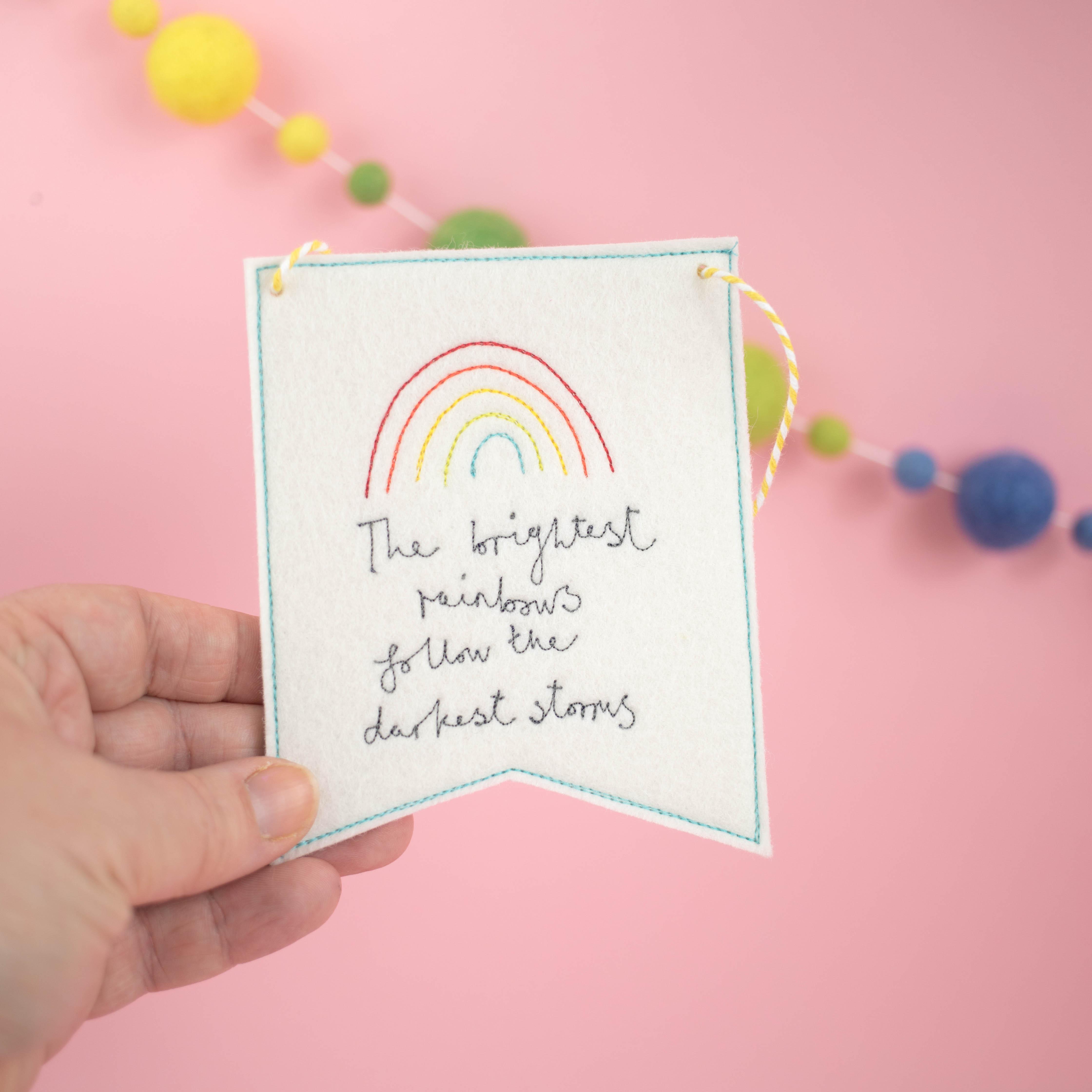 Brightest Rainbow Banner