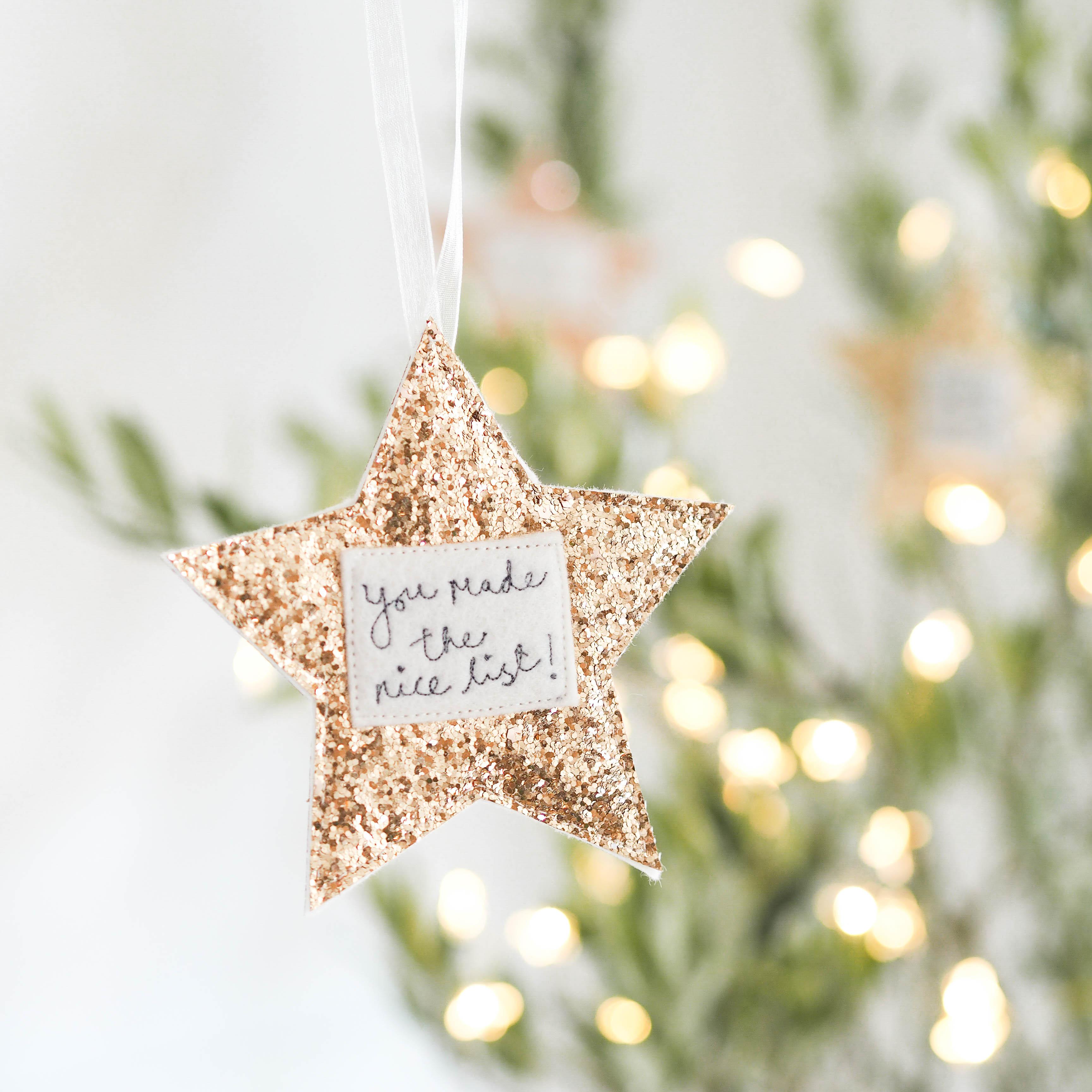 Nice list, Christmas Eve box decorations.