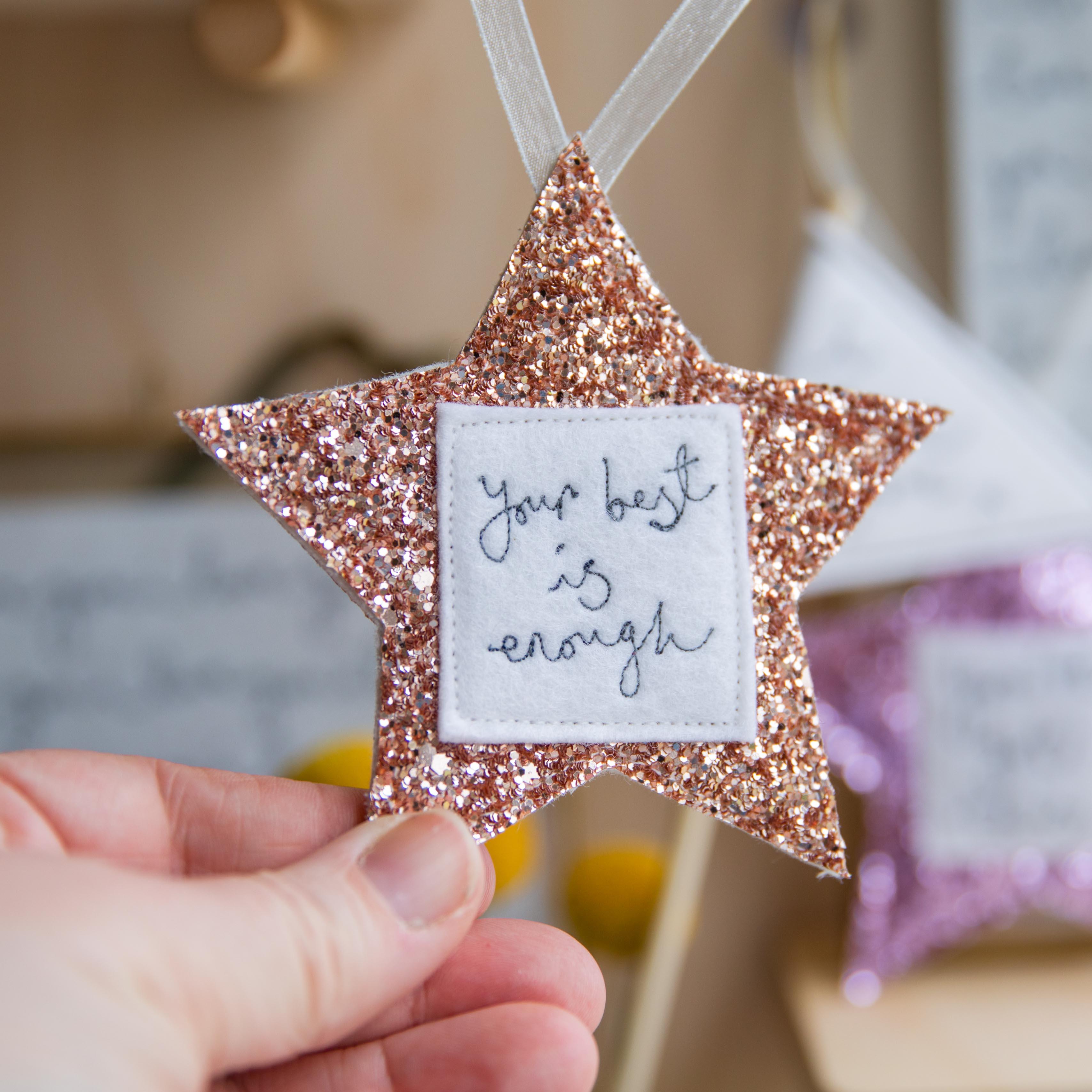 Custom sparkly star