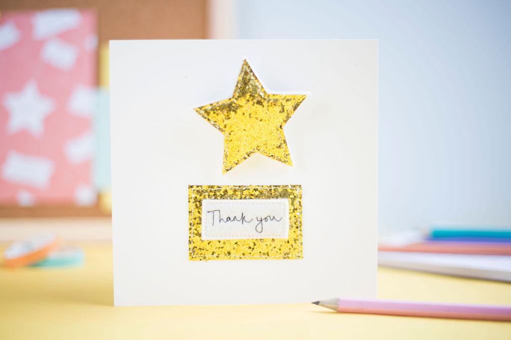 Thank You Teacher Gift – Gold Star Badges