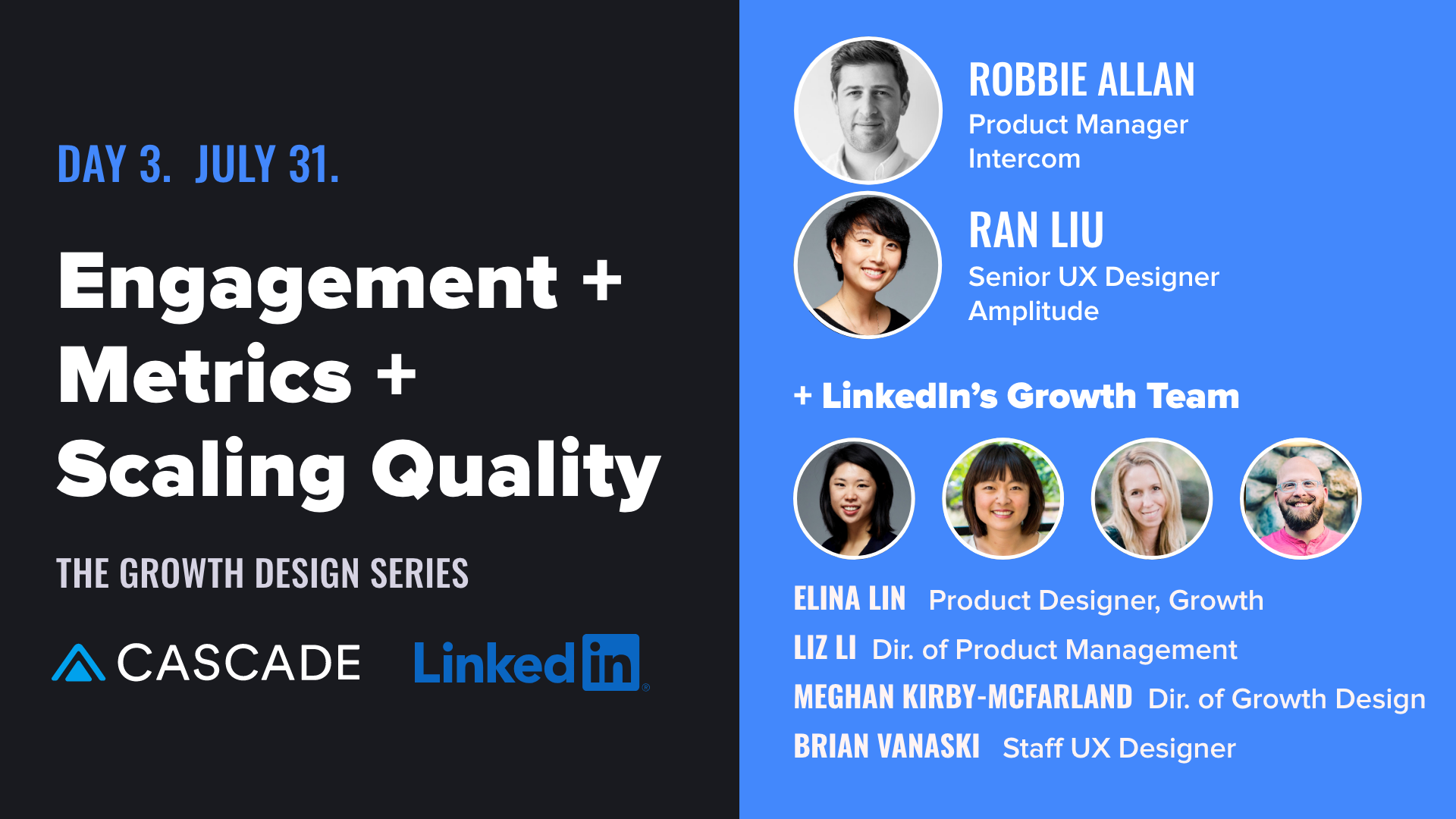 growth design series lineup