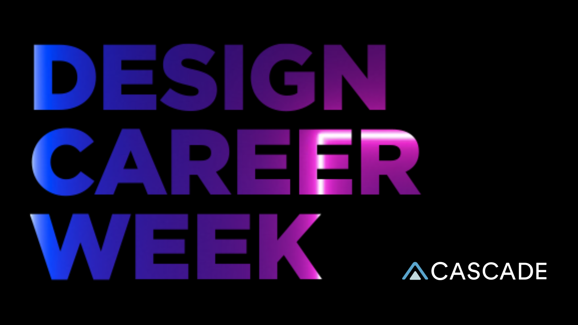 Design Career Week by Cascade SF