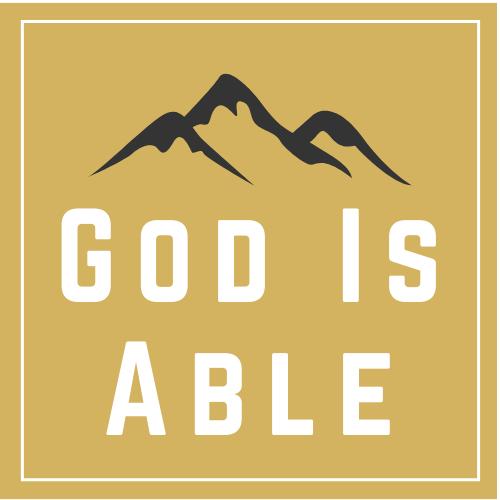 God Is Able Logo