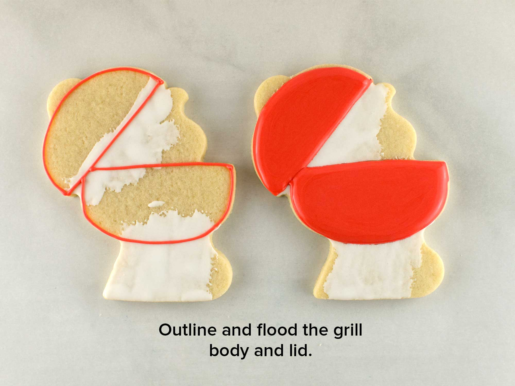bbq grill cookies step 3