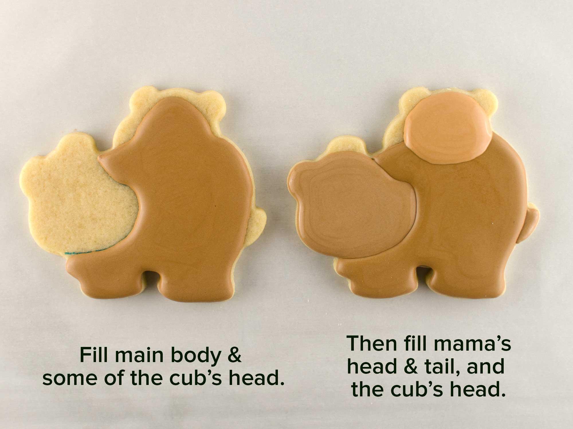 mama bear cookies step 2