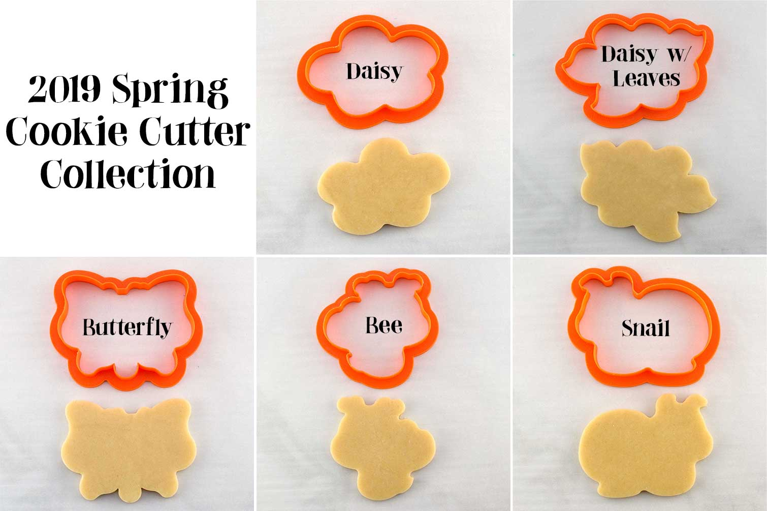 spring cookie cutter collection