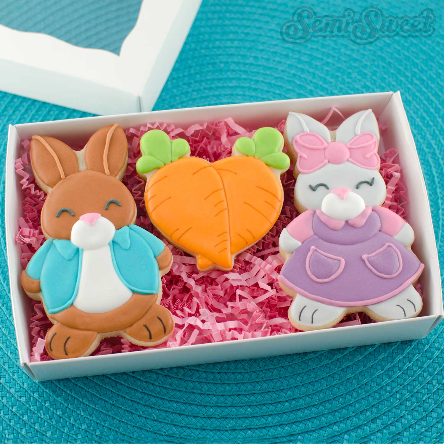 peter rabbit cookies in BRP box